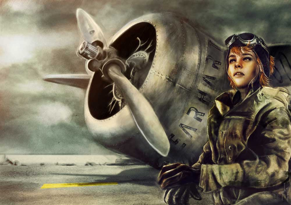 <h3>Amelia Earhart</h3><p>