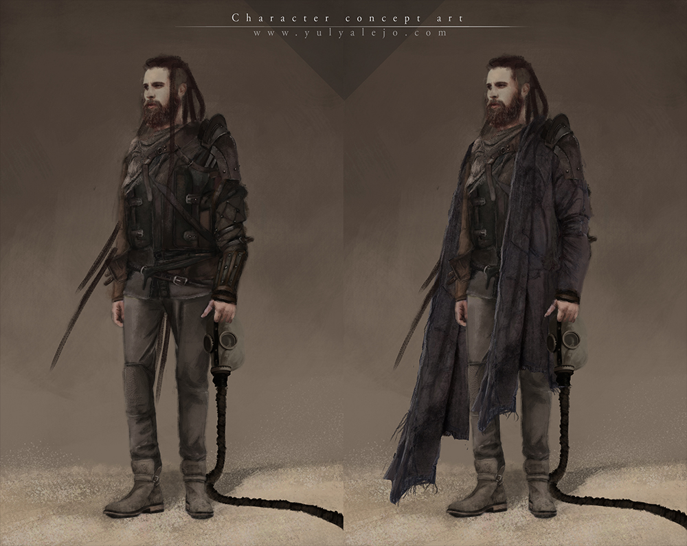 Character Concept Art Yuly Alejo