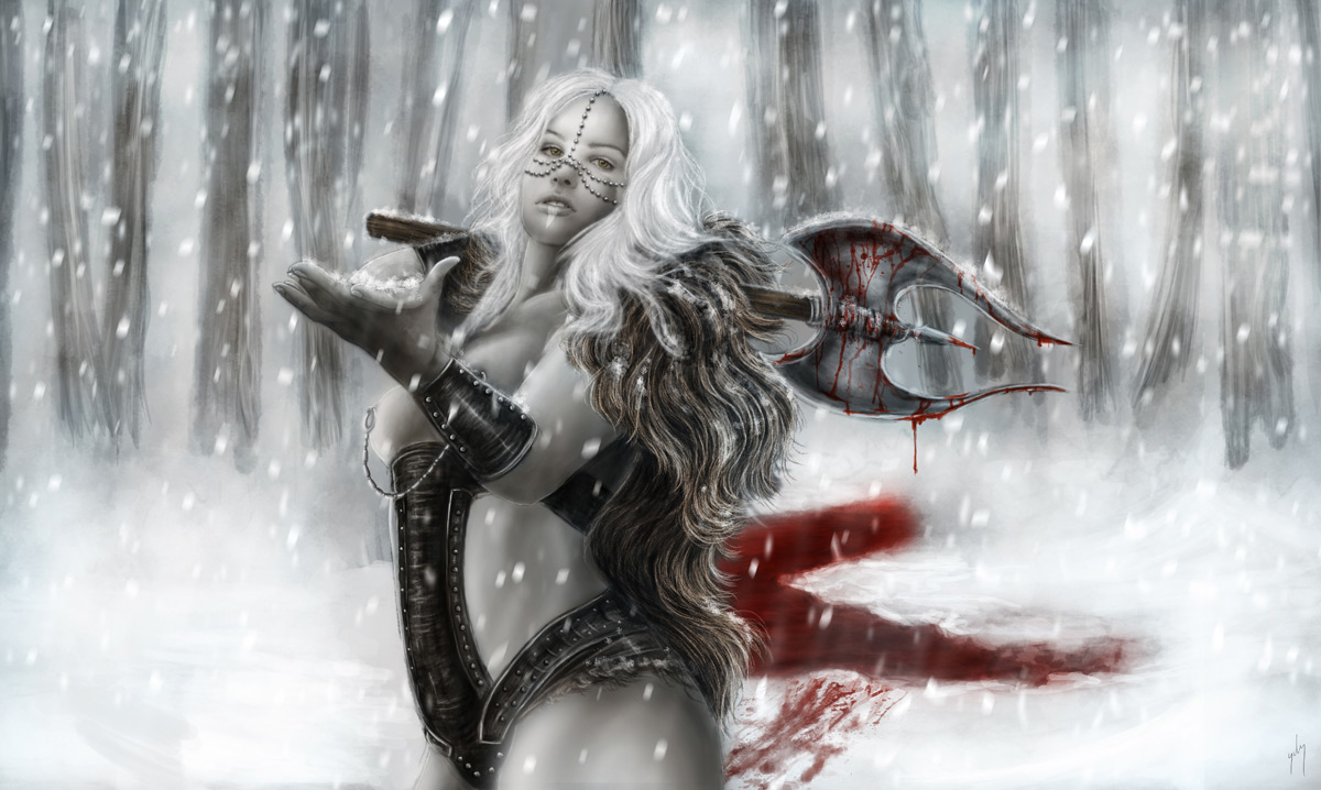 <h3>Dagnna SnoWarrior</h3><p>