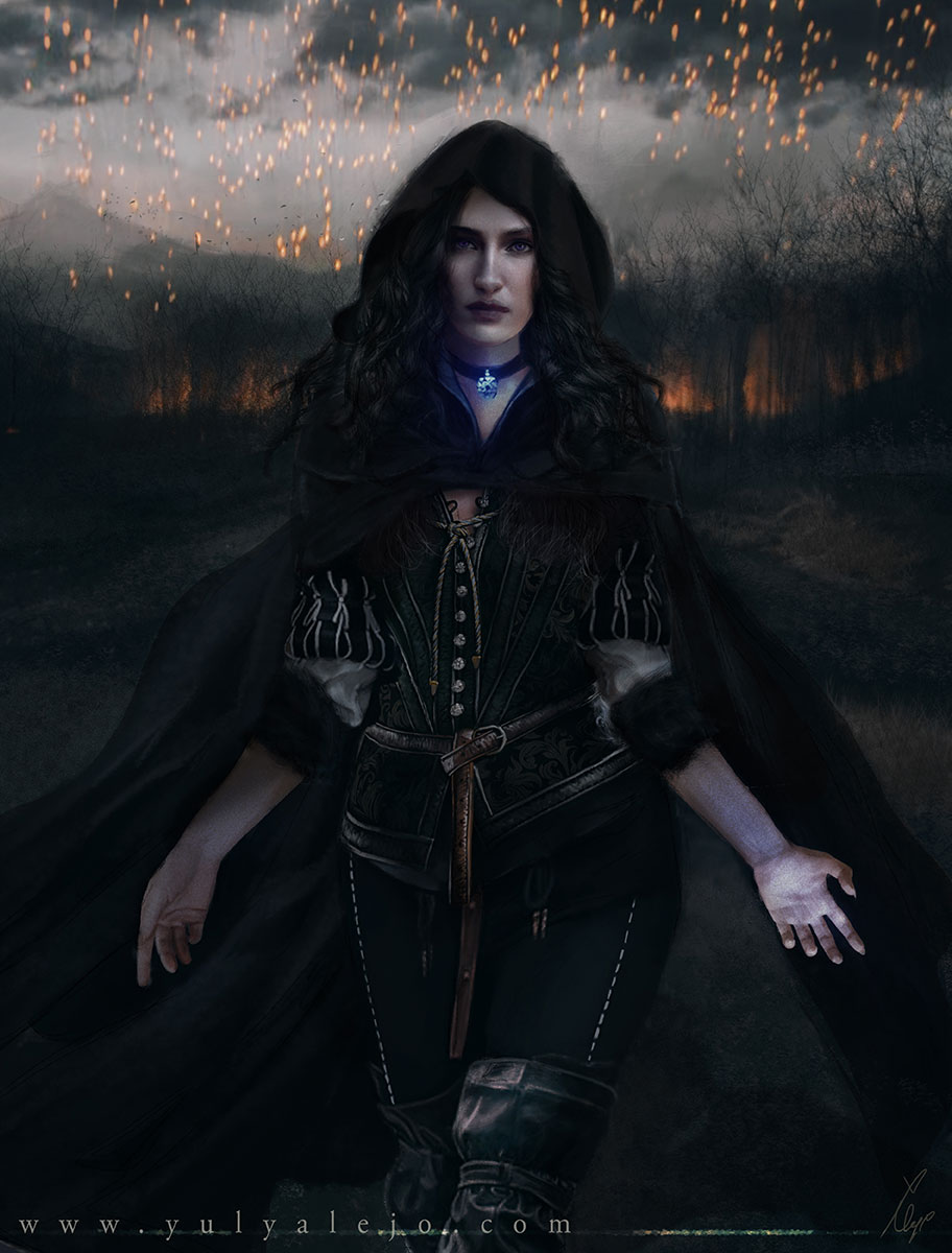 <h3>Yennefer Vengerberg -The Witcher 3</h3><p>
