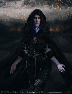 Yennefer Vengerberg -The Witcher 3
