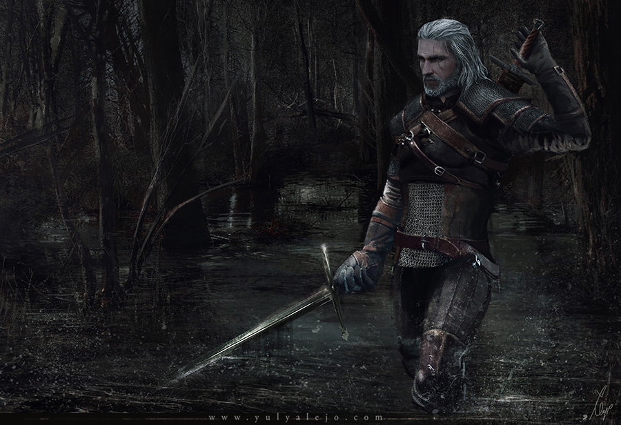 <h3>The Witcher Wild Hunt- Ladies of the woods- Geralt of Rivia</h3><p>